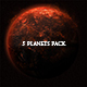 5 Planets Pack - GraphicRiver Item for Sale