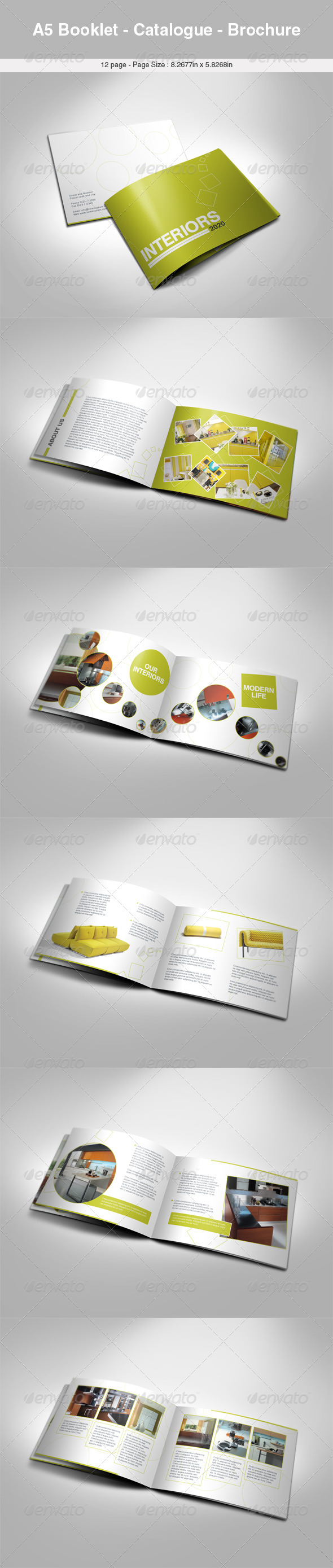 A5 Booklet - Catalogue - Brochure  - Catalogs Brochures