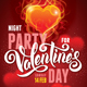 Valentines Day Poster Template - GraphicRiver Item for Sale