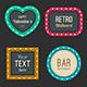 Retro Light Frames - GraphicRiver Item for Sale