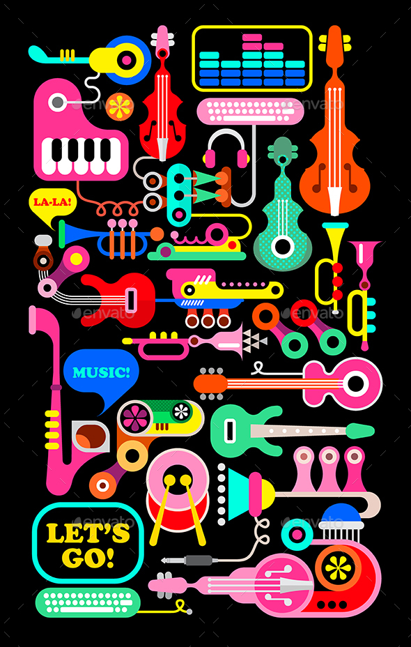 Musical Composition - Man-made Objects Objects