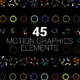 45 Motion Graphics Elements - VideoHive Item for Sale