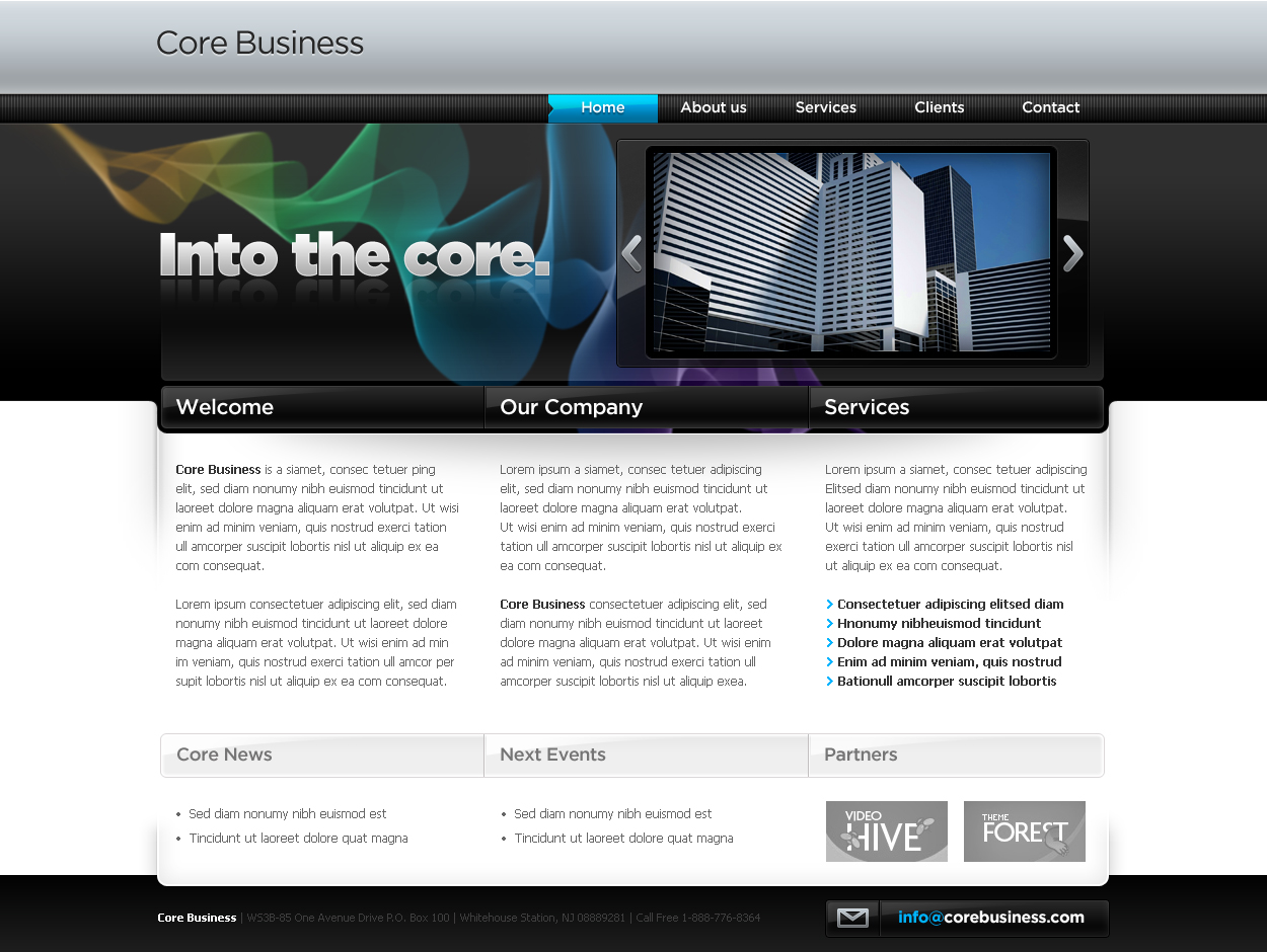 Free Download Business Template #04 Nulled Latest Version