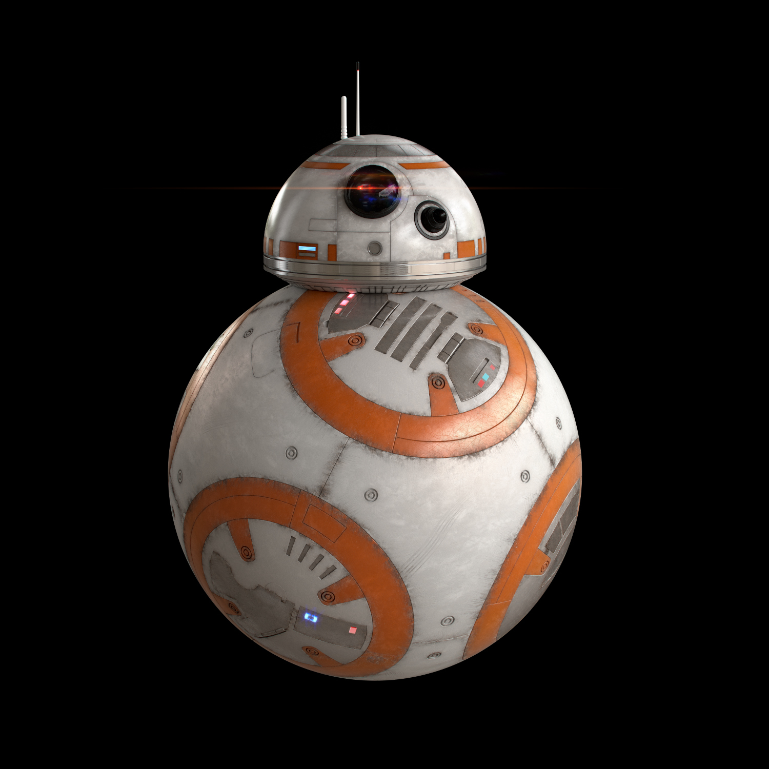 BB-8 Star Wars Droid Full Rigged by LeanSaler | 3DOcean