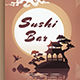 Sushi Bar Flyer Template - GraphicRiver Item for Sale
