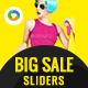 Big Sale Sliders - 3 Designs
