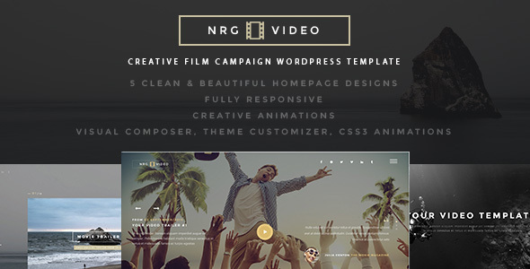 NRGProducer - Creative Film Studio Theme