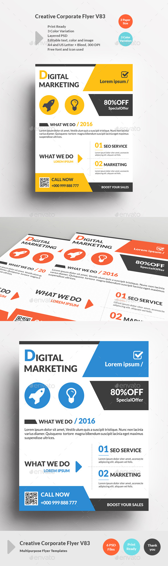 Creative Corporate Flyer V83 - Corporate Flyers
