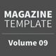 Magazine Template - Volume 09 - GraphicRiver Item for Sale
