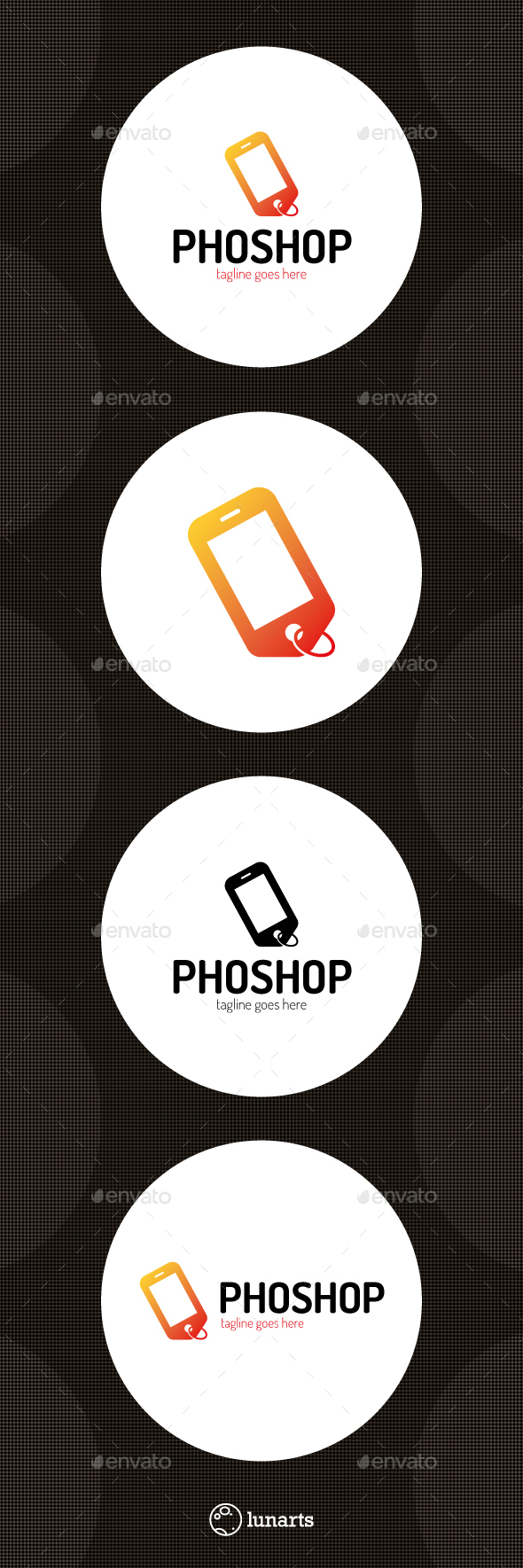 Mobile Shop Logo - Symbols Logo Templates