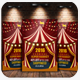 Circus & Carnival Psd Flyer Template - GraphicRiver Item for Sale