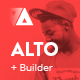 Alto - Modern Email Template + Builder 2.0 Nulled