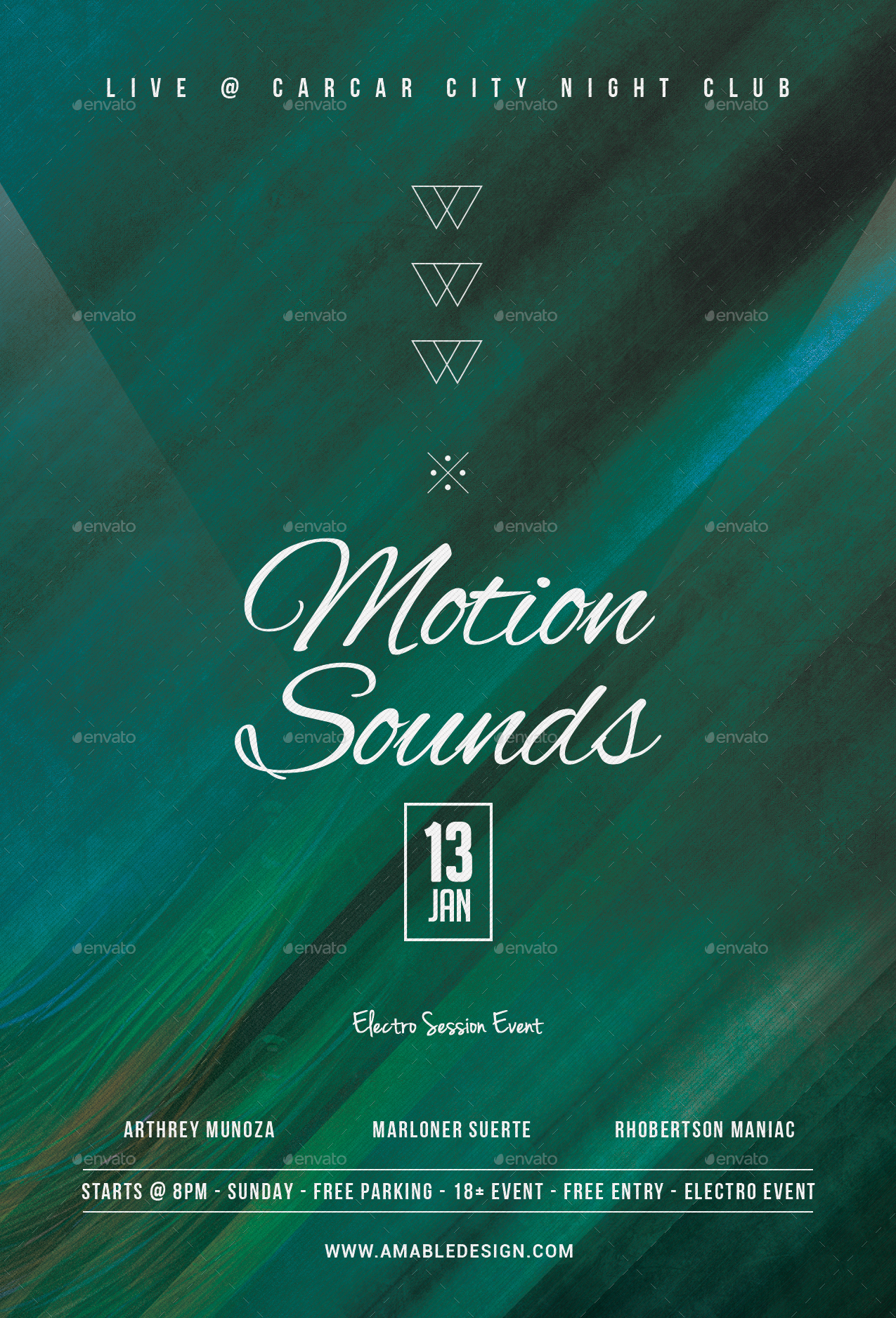 Motion Sounds Flyer