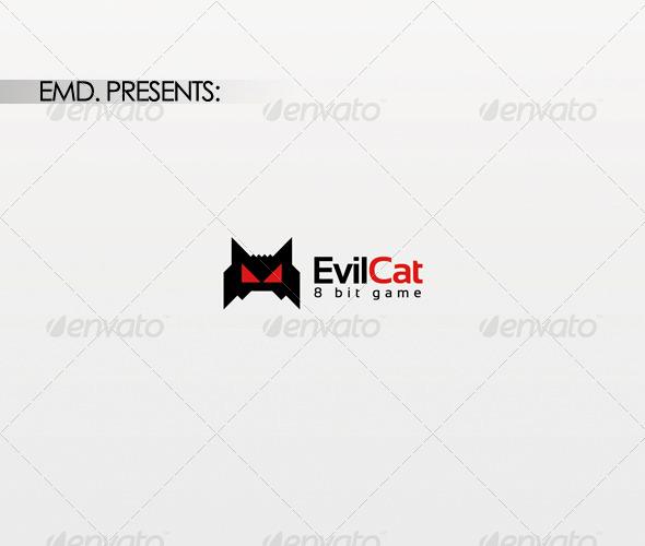 Evil Cat Logo - Symbols Logo Templates