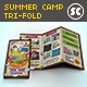 Kids Summer Camp Tri-Fold - GraphicRiver Item for Sale