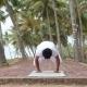Yoga On The Tropical Village - VideoHive Item for Sale