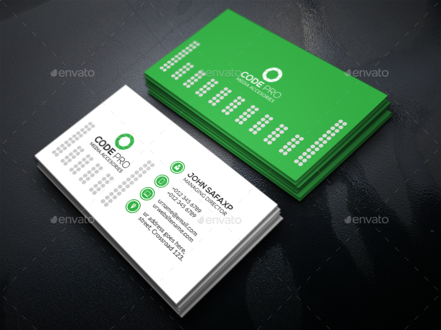 Construction Business Card by shafiqulphy | GraphicRiver