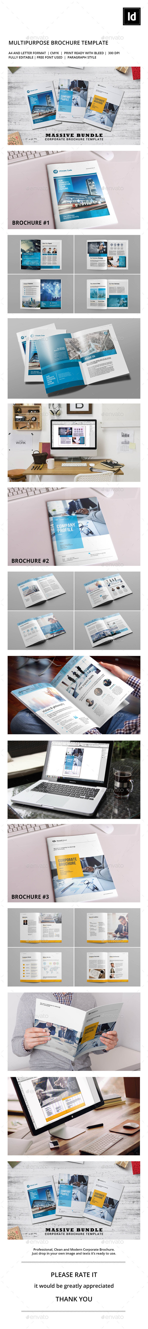 Corporate Brochure Bundle V.1 - Corporate Brochures