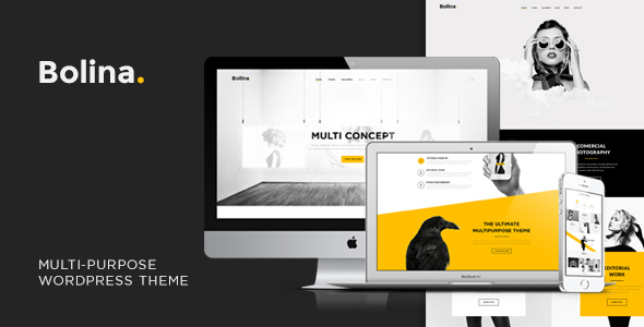 Bolina – Trendy & Stylist WordPress Theme