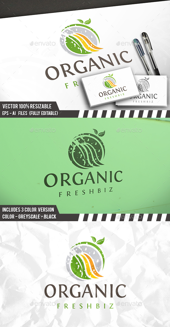 Fresh Food Logo - Food Logo Templates