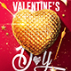 Valentine's Day | Flyer Template - GraphicRiver Item for Sale