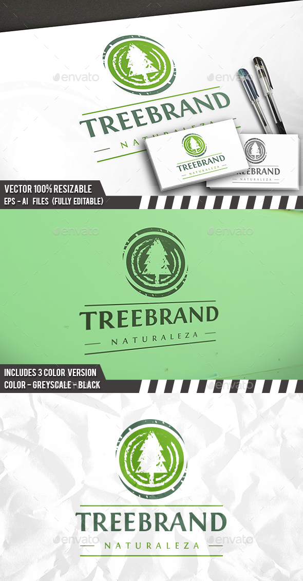 Tree Eco Logo - Nature Logo Templates