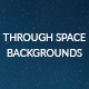 Through Space Backgrounds - GraphicRiver Item for Sale
