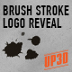 Brush Stroke Logo Reveal  - VideoHive Item for Sale