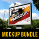 3 in 1 Billboard Banner Mock-Up Bundle - GraphicRiver Item for Sale