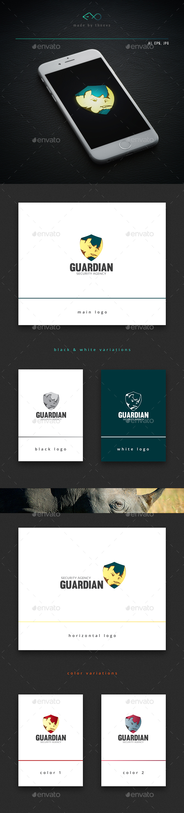 Guardian - Animals Logo Templates