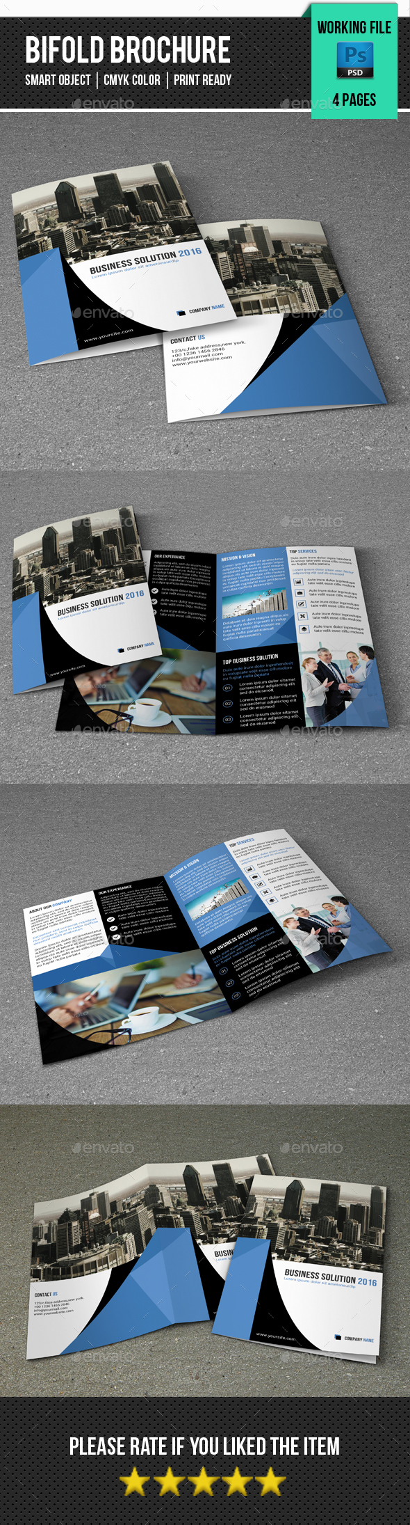Corporate Bifold Brochure-V336 - Corporate Brochures