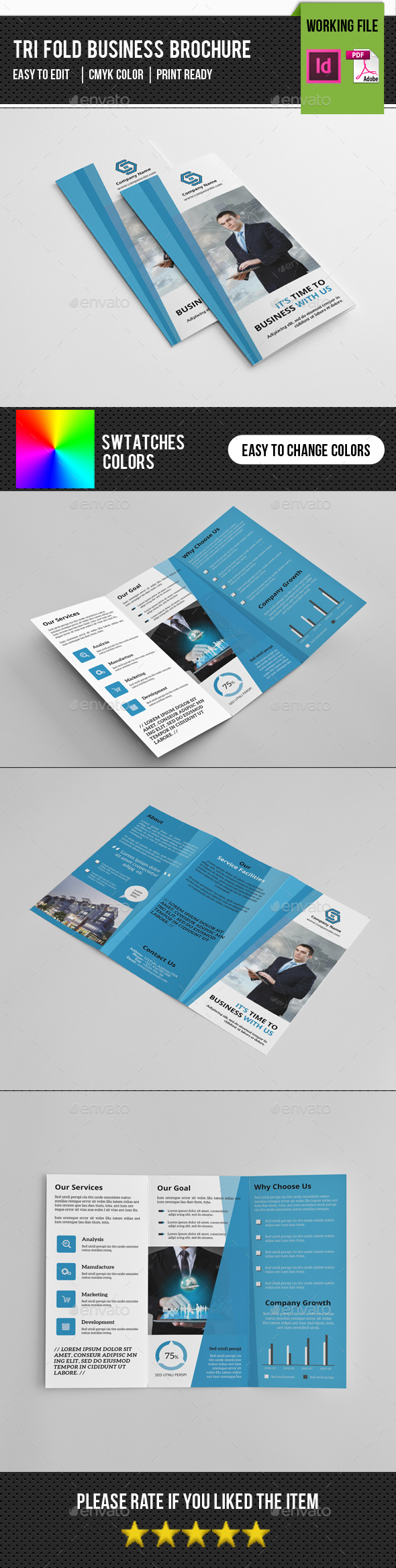 Business Trifold Brochure-V273 - Corporate Brochures