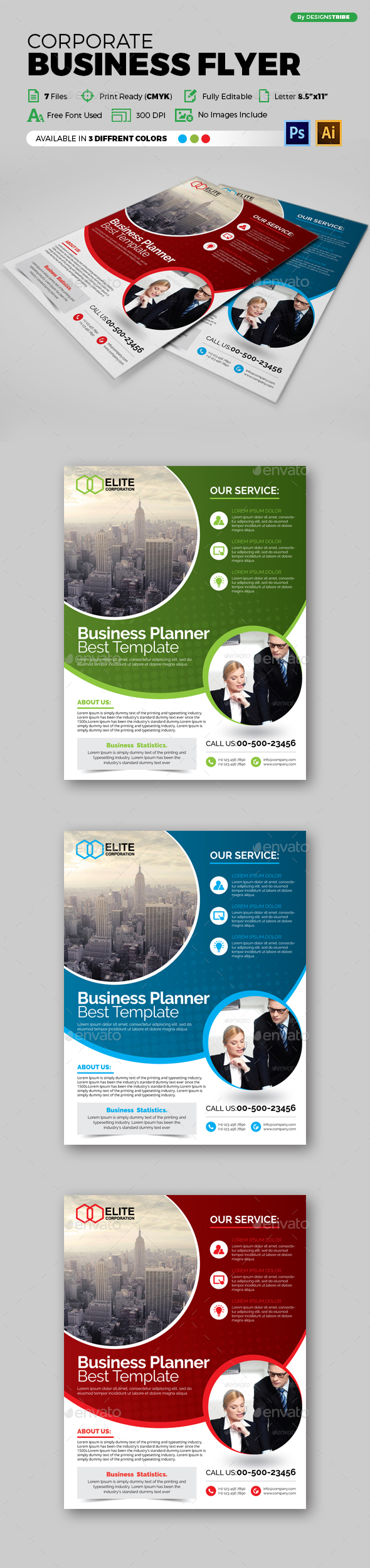Flyer - Multipurpose 113 - Corporate Flyers