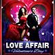 Valentines Day Flyer + Menu Bundle V3 - GraphicRiver Item for Sale