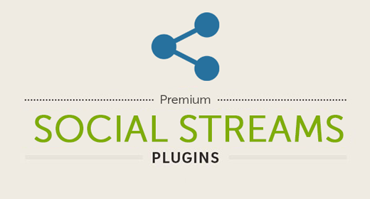 10 WP Social Streams Plugins ★ 2016