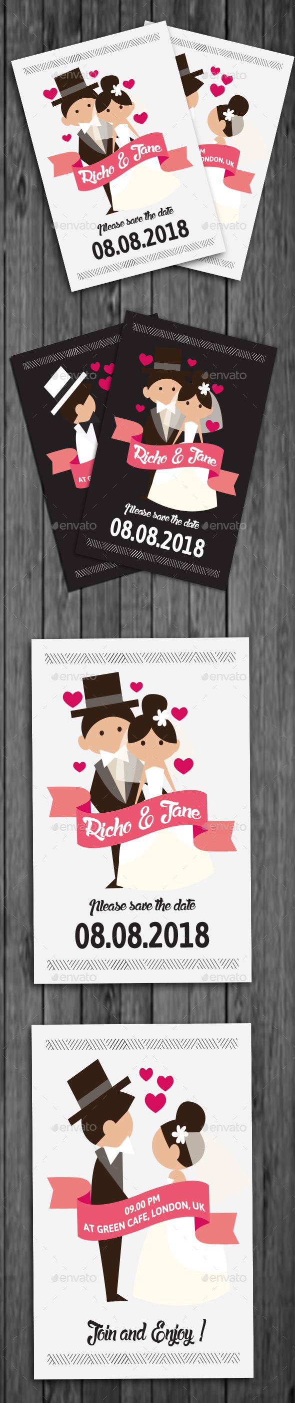 Unique Wedding Invitation - Weddings Cards & Invites