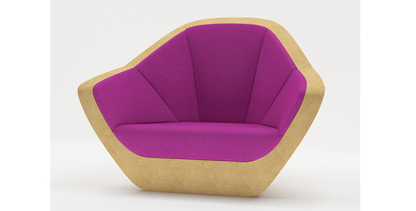 Corques Armchair - 3DOcean Item for Sale