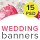 Wedding Banners - GraphicRiver Item for Sale