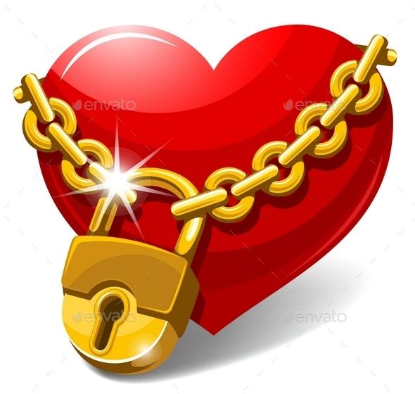 Closed Heart - Valentines Seasons/Holidays