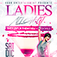 Ladies Night - Flyer Template - GraphicRiver Item for Sale