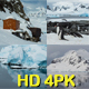 Sights of Antarctica 4 Pack - VideoHive Item for Sale