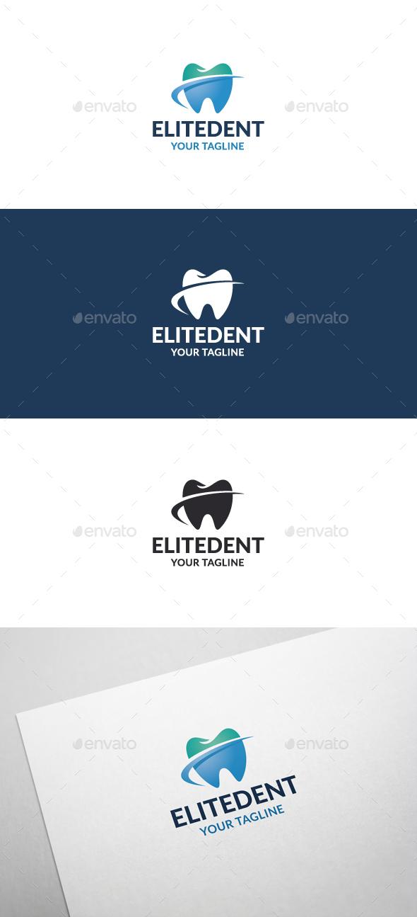 Elite Dent Logo - Objects Logo Templates