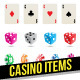 Casino Items - GraphicRiver Item for Sale