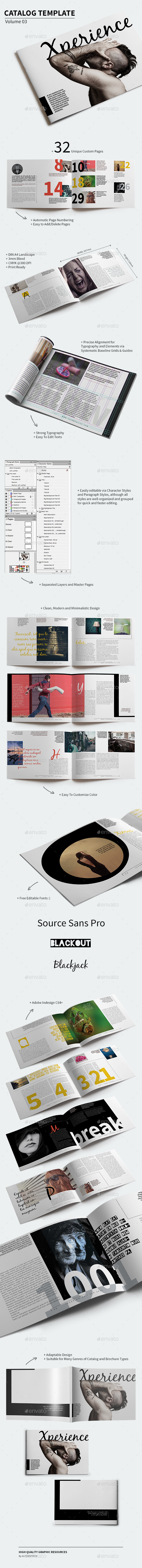 Catalog Template - Volume 03 - Catalogs Brochures