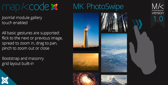MK PhotoSwipe - Touch enabled Gallery for Joomla! - CodeCanyon Item for Sale
