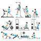Girls in the Gym - GraphicRiver Item for Sale