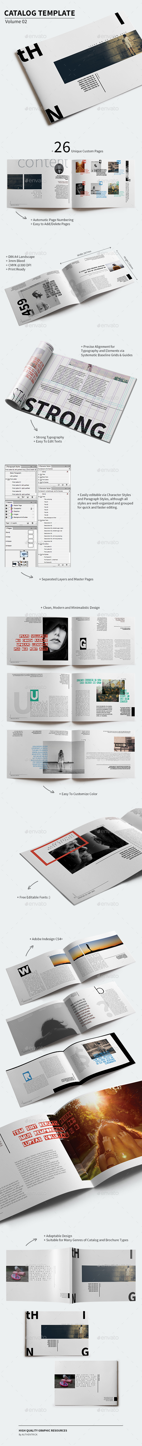 Catalog Template - Volume 02 - Catalogs Brochures