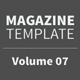 Magazine Template - Volume 07 - GraphicRiver Item for Sale