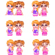 Twins Sister Photographed  - GraphicRiver Item for Sale