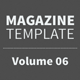 Magazine Template - Volume 06 - GraphicRiver Item for Sale